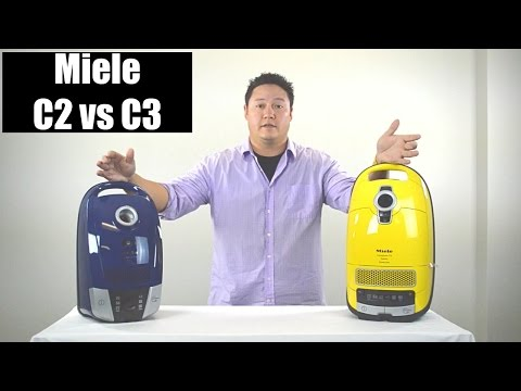 Miele C2 vs C3 Vacuum Review - Comparison & Highlights