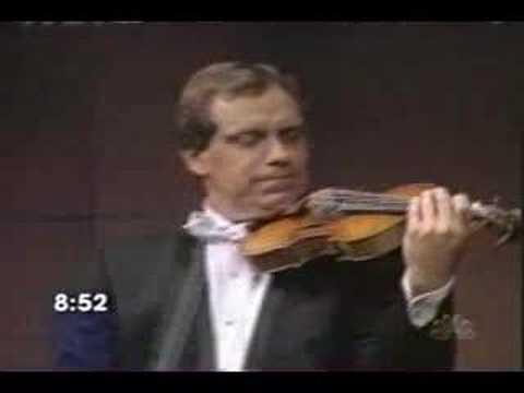 Eugene Fodor playing Paganini's Guarnerius violin