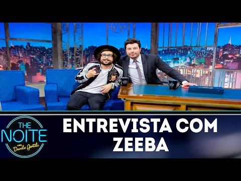 Entrevista com Zeeba  The Noite 231118