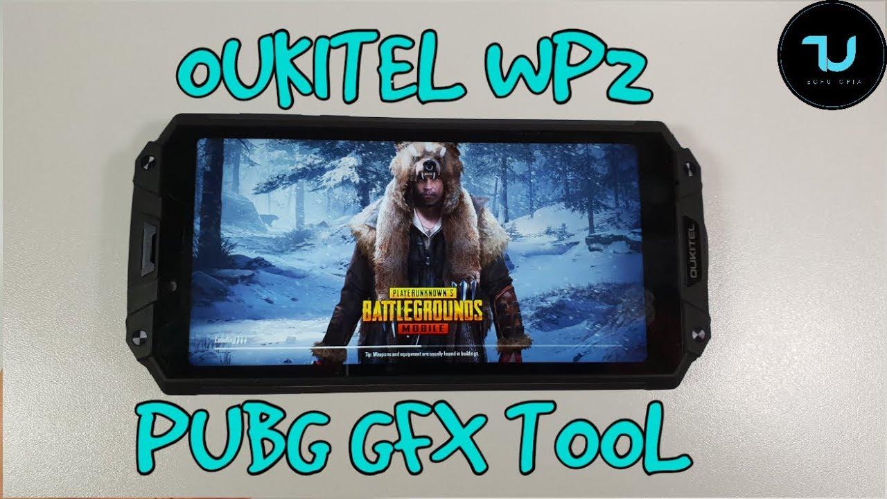 MT6750 PUBG Mobile GFX Tool Gaming test/Mali T860 / Oukitel