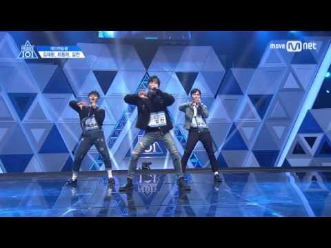 Produce 101 Season 2: Kim Jaehwan, Choi Dongha & Kim Chan Ranking Performance FULL VER. (♬HEY MAMA♬)