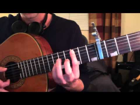 How to Play Cm Bar Chord (for Lil Wayne How To Love) - Brett Sanders Guitar Lesson Teacher