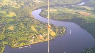 Le lac d'Eguzon en pendulaire