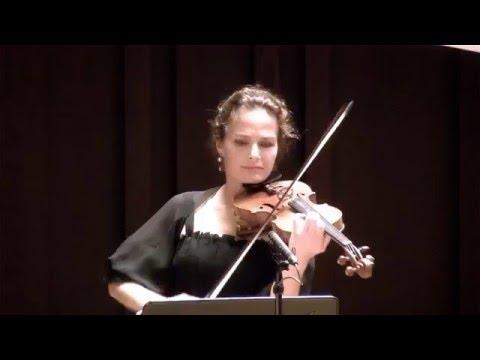 "Beethoven Violin Sonata n°9 Op.47 ""Kreutzer"" (Sandrine Cantoreggi violin - Connie Shih piano) 1/3"