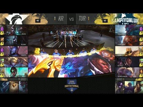 SKT vs SUP Highlights - SK TELECOM T1 vs SUPERMASSIVE - 2016 MID-SEASON INVITATIONAL