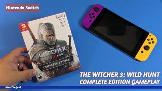 The Witcher 3: Wild Hunt Complete Edition Gameplay