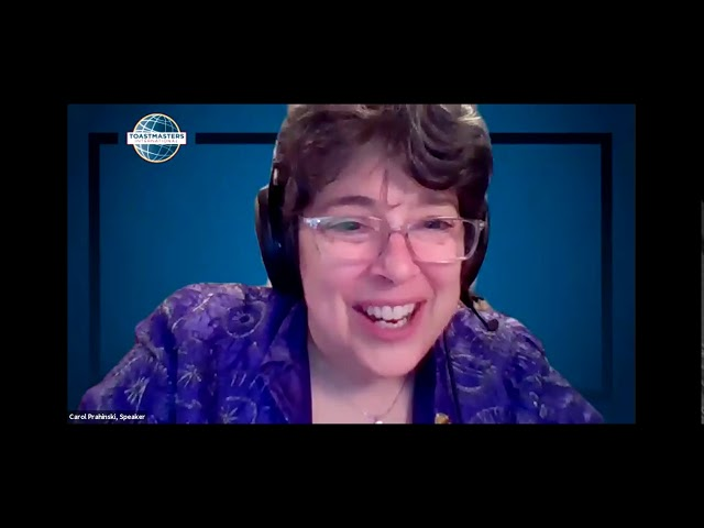 April 27, 2020 Replay - Online Presenters Toastmasters