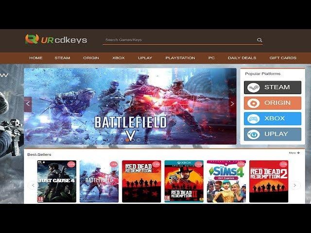 URCDKeys! - Games e Softwares com Descontos Incríveis!!