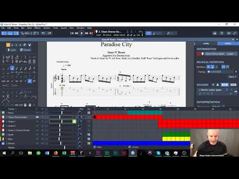 How To Transpose Tracks In Guitar Pro 7