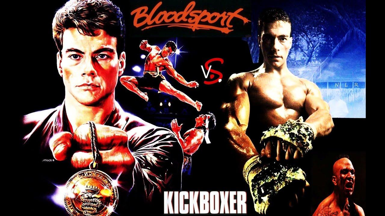 Jean-Claude Van Damme - Bloodsport vs. Kickboxer (Bolo ...