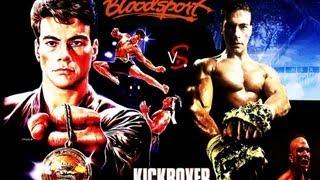 Jean-Claude Van Damme - Bloodsport vs. Kickboxer (Bolo Yeung bonus scene) NLR Fight Montage