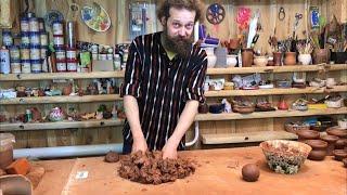 🍯 Восстановление мокрой глины Обучение гончарству Волшебство керамики