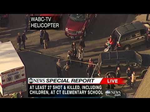 Connecticut Shooting in Newtown: 27 Dead at Sandy Hook Elementary School