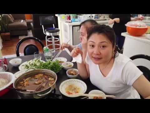 Mắm Kho( Mẹ chồng nấu mắm kho ăn sinh Nhật chồng khi dịch không ra ngoài được