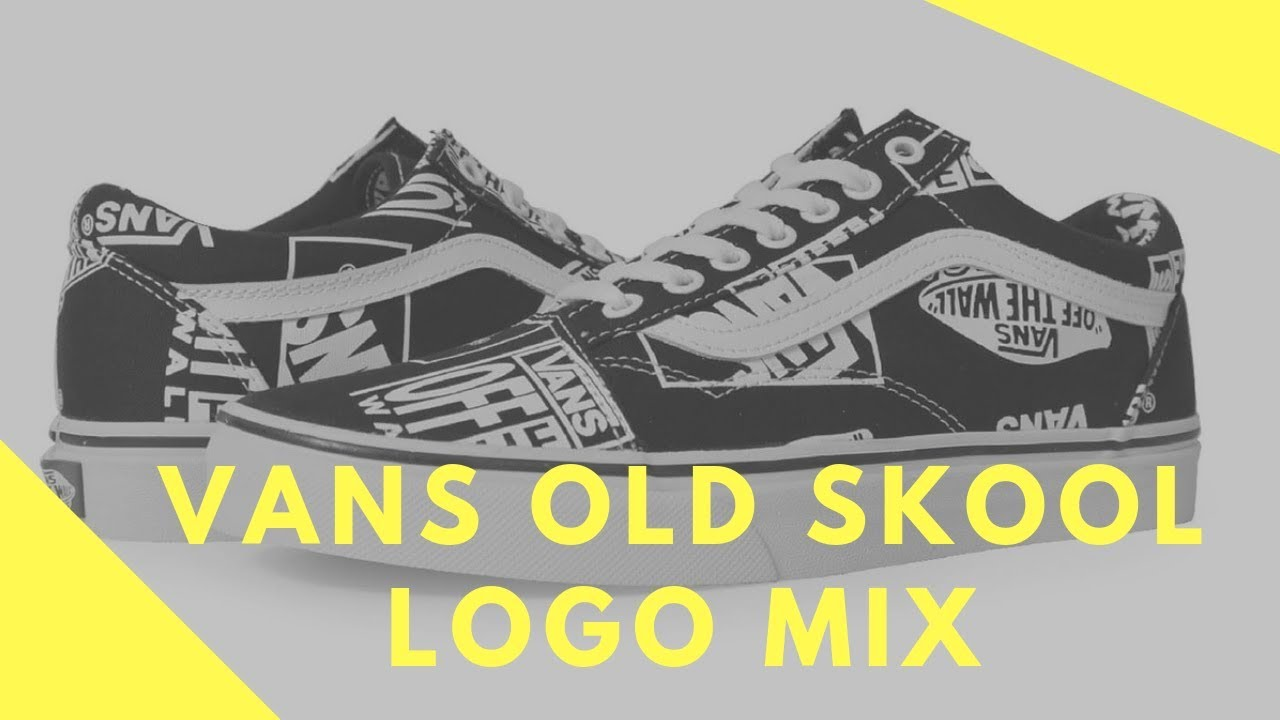 Shoes Vans Old Skool Logo Mix Order