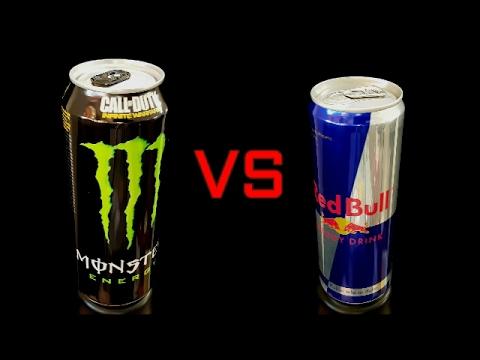 MONSTER vs RED BULL