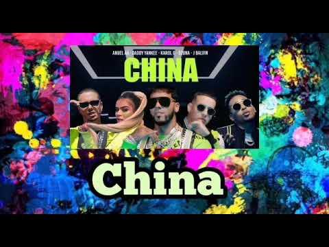 1 HOUR - China [Anuel AA, Daddy Yankee, Karol G, Ozuna, J Balvin]