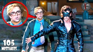 (105 Mistakes) In Krrish - Plenty Mistakes In