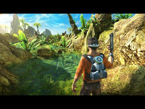 ESTE JUEGO ES INCREÍBLE! Gameplay Outcast Second Contact!