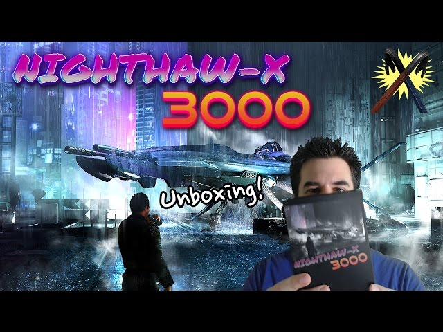 Nighthaw-X3000 - Unboxing the NES Box While Playing