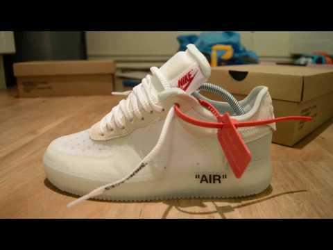 "fb5b3c1015a32 I'm not finished!!!!! off white x Nike Air Force 1 ""The Ten"" - YouTube"