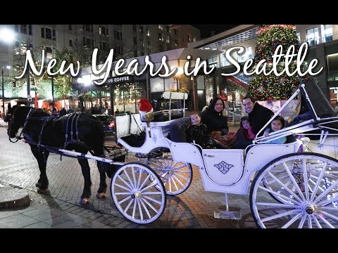 NEW YEARS EVE IN DOWNTOWN SEATTLE! -  ItsJudysLife Vlogs
