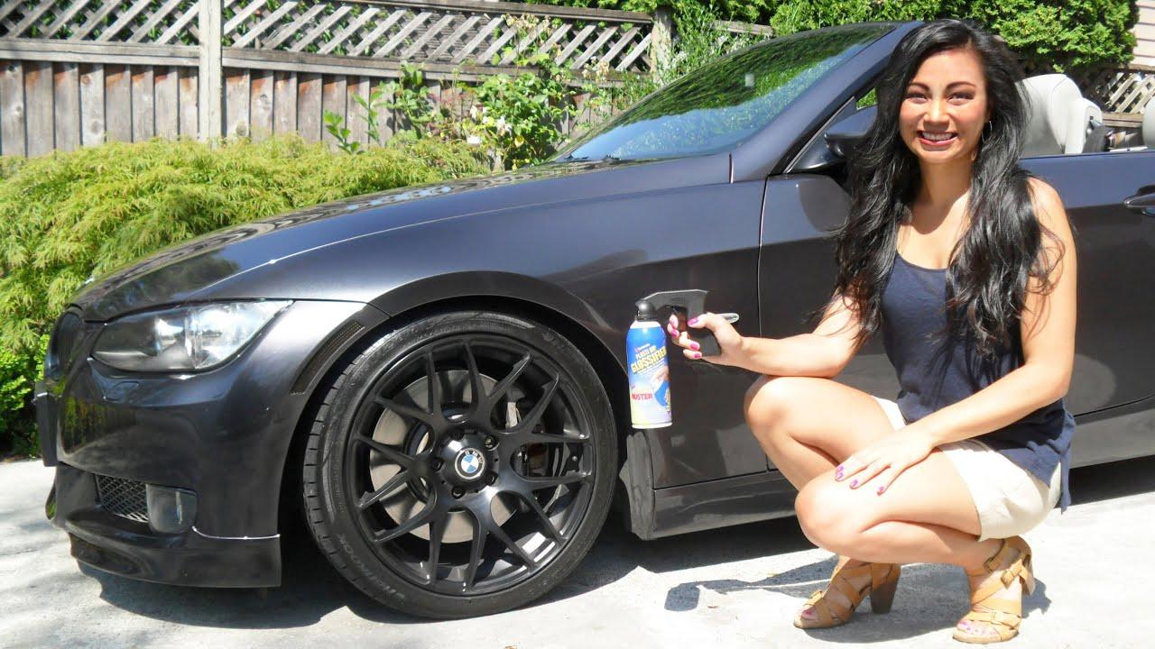 Can I Spray Paint Over Plasti Dip Part - 29: How To Apply Plasti Dip Glossifier To Non-Plasti Dipped Rims (Wheels Left  On Car) - YouTube