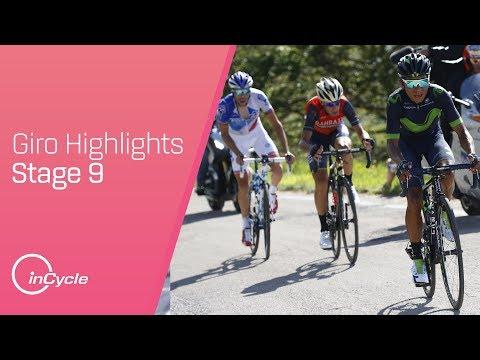 Giro d'Italia: Stage 9 - Highlights