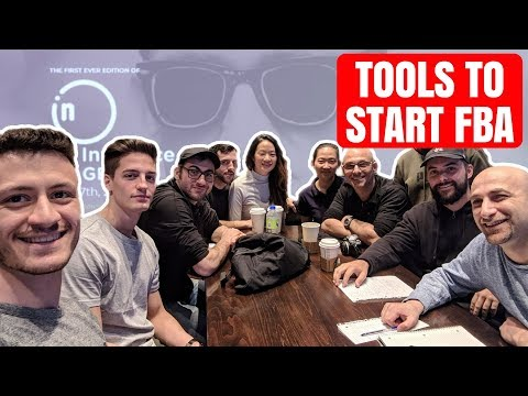What TOOLS Do You Need To START Amazon FBA - Montreal FBA Meetup + Casey Neistat Event Discount!!
