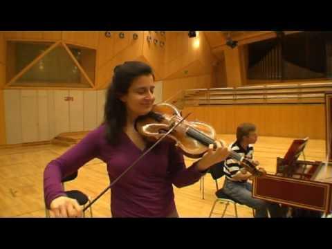 Handel Violin Sonatas, Ariadne Daskalakis, Trio Vintage Cologne
