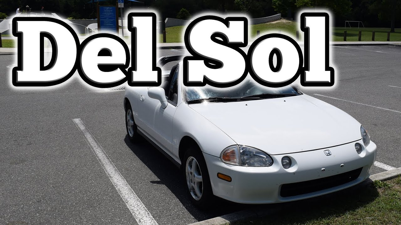 regular car reviews 1995 honda del sol doovi. Black Bedroom Furniture Sets. Home Design Ideas