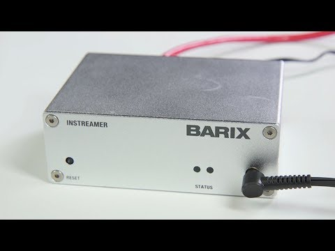 Broadcast AM Radio Online Using a Barix Instreamer
