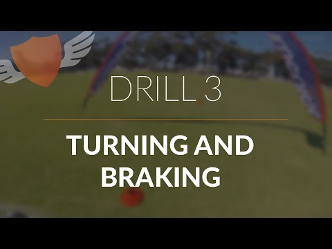 How-to Fly FPV Quadcopter/Drone // Beginner: Drill 3 // Turning and Braking