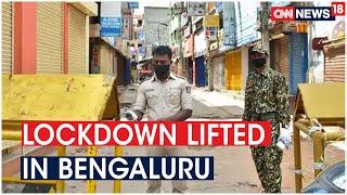 Karnataka CM B.S Yediyurappa Lifts Lockdown In Bengaluru; Curbs To Remain In Containment Zones