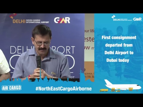 #NortheastAirborne- Delhi Airport makes export of perishable agro-products a reality