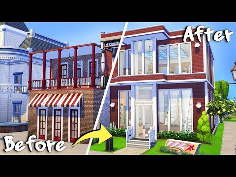 MOVERS & SHAKERS 💕 | The Sims 4: Fixeline's Renovations | Speed Build