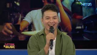 """Sam Mangubat promotes his latest single 'Ikaw At Ikaw Pa Rin"""" (NET25 Letters and Music)"""