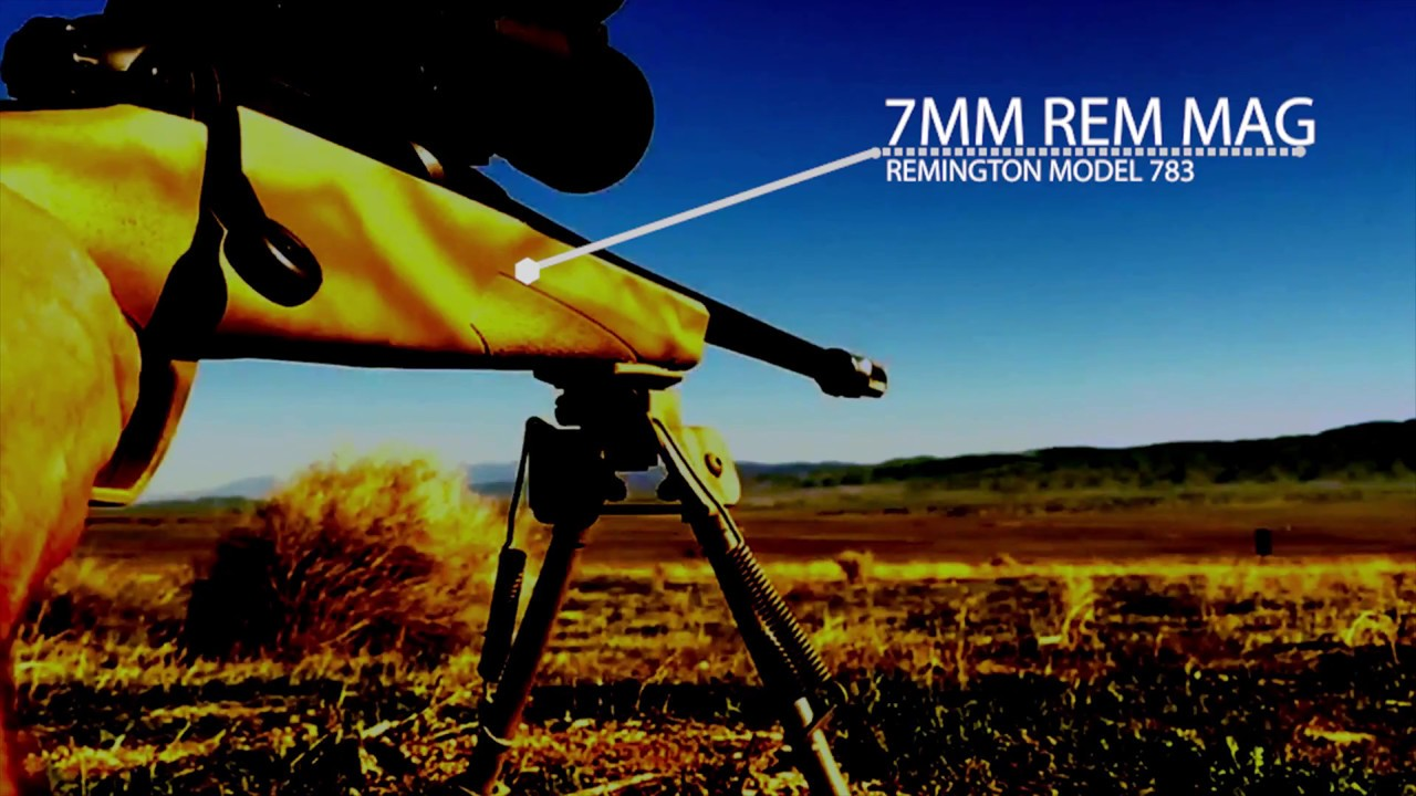 Remington 783 Chambered In 7mm Rem Mag Youtube