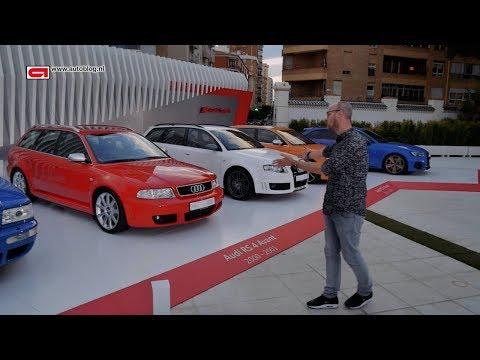 Alle generaties Audi RS 4 op een rijtje