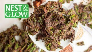 How to Make Chocolate Kale Chips - Cheap and Healthy