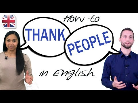 10 Ways to Say 'Thank You' in English - How to Thank People and Respond