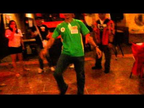 "MAAI ACQUAINTANCE PARTY 2012- George (boxer) Playing ""kick"""