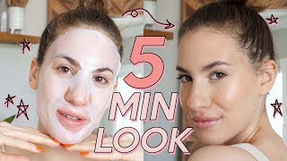 ⏰ 5 MINUTE MAKEUP With NO Compromises! | Jamie Paige