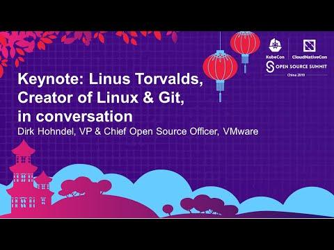 Keynote: Linus Torvalds, Creator of Linux & Git, in conversation with Dirk Hohndel