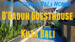 Gambar cover D'Gaduh Guesthouse Kuta Bali | Where to stay in Kuta Bali | Hotels in Kuta Bali | Video Hotel Review