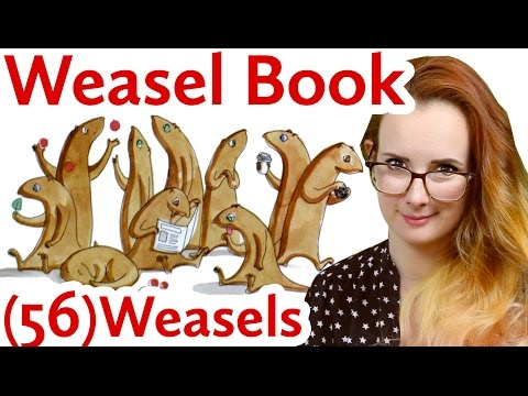 Children's Book Review: Weasels by Elys Dolan