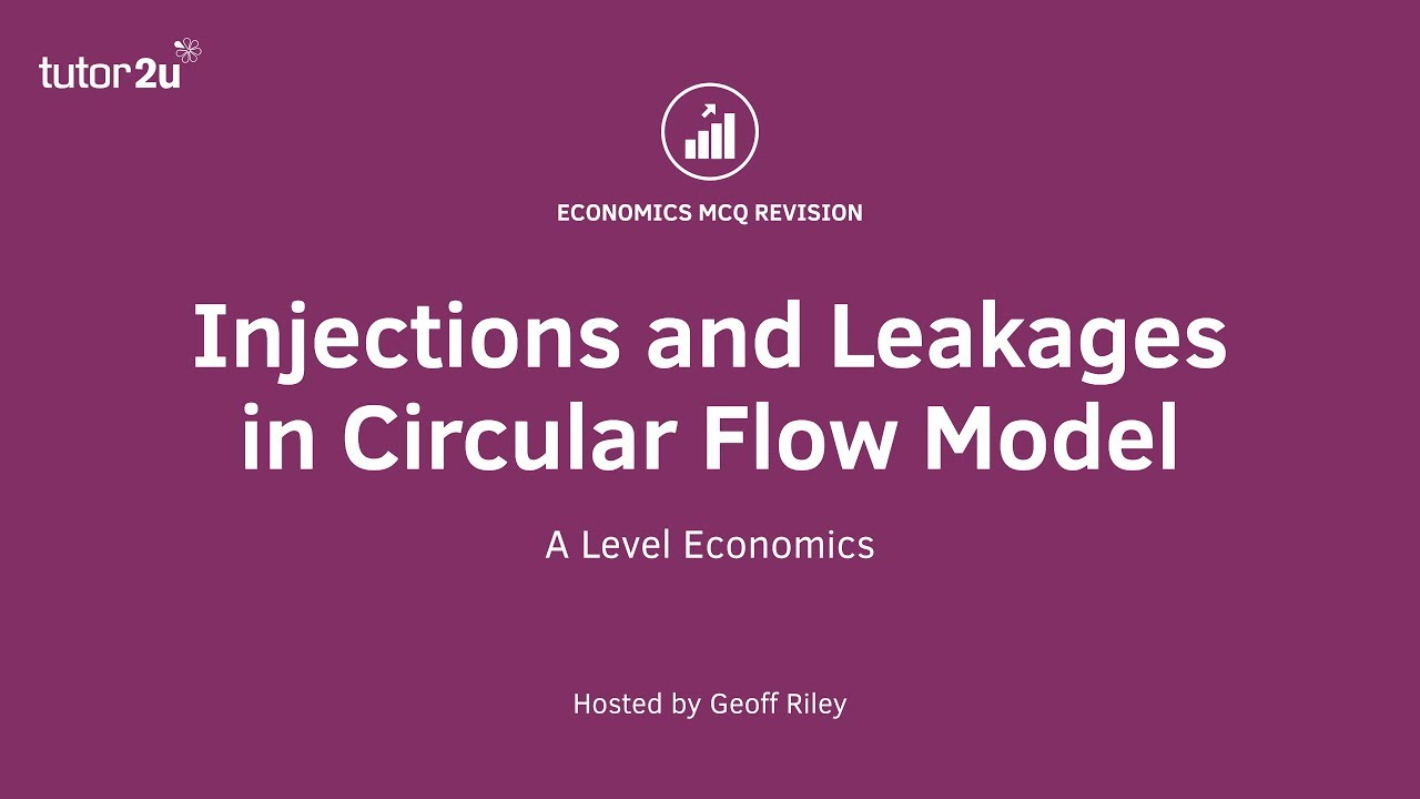 injection and leakages in circular flow of income
