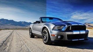 Enhance Vehicle photography with Adobe Photoshop