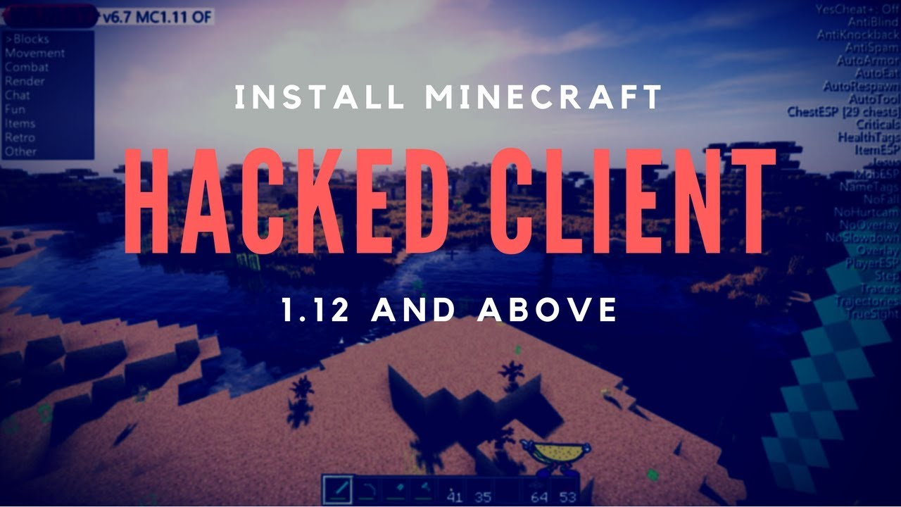 How to Install Minecraft Hacked Client for 1.12.2 - Wurst ...