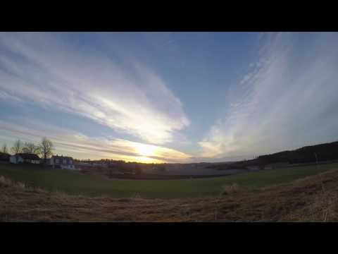 SunRise TimeLapse Fields of Norway.  Early Morning Production